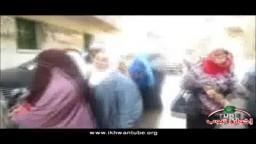 أطول طابور نسائى فى محرم بيك بالإسكندرية أمام لجان التصويت