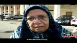 سيدة من بورسعيد وأول مرة تدلي بصوتها فى انتخابات مجلس الشعب 2011