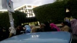 برلمان الثورة - طابور طويل أمام مدرسة عبد الخالق حسونة بالإسكندرية