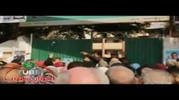 القاضي بمدرسة اسكان ناصر بحدائق القبة يعتذر للناس بعد احتجاجهم علي التأخير