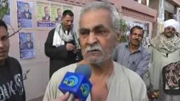 مشهد مؤثر فى  انتخابات مجلس الشعب 29 - 11 - 2011 - رجل عجوز- دي بلدي