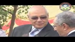 د.محمد سليم العوا يدلى بصوته فى مدرسة عباس العقاد