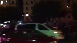 نقل صناديق الاقتراع تحت حماية الجيش والشرطة العسكرية بشارع ٢٦ يوليو الساعة ٩:٣٠ مساءً