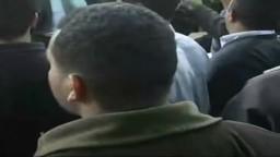 افراد الأمن الوطنى داخل مقر الفرز باستاد الأسكندرية