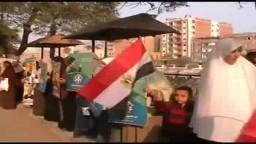 وقفة تأييد للحرية والعدالة علي كورنيش شبين الكوم