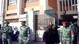 برلمان الثورة - الفيوم - اقبال متوسط مع منتصف اليوم 12/5 جولة الاعادة