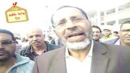 كلمة للمهندس محمد عامر (مرشح فردى فئات الحرية والعدالة بالدائرة الثانية بكفر الشيخ ) صباح جولة الإعادة