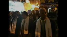 مسيرة انتخابية لمرشحي الحرية والعدالة بالسويس