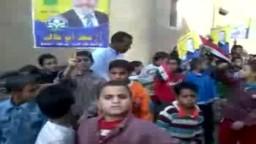 مسيرة أشبال البهي تأييدا لمرشح الحرية والعدالة