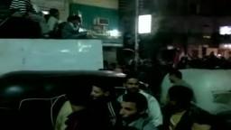 احتفال اهالي سنورس بفوز مرشحي الحرية والعدالة