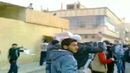 شام الحسكة غويران اضراب الكرامة هجوم الامن على المتظاهرين