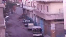 شام - حمص - باب تدمر - إطلاق النار العشوائي 10-12