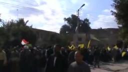 مسيرة للحرية والعدالة بكوم حمادة بالبحيرة