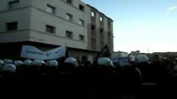 المغرب- قمع تظاهرات لحركة 20 فبراير 12/ 12