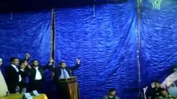 انشودة الله غايتنا بمؤتمر الحرية والعدالة بالاسماعيلية