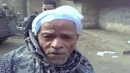 كلمة مواطن مصرى  لم يمنعه كبر السن من الادلاء بصوته