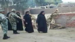 الجيش ينظم عملية الانتخابات في بلبيس بالشرقية