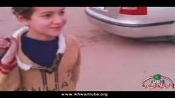 دعاية لحزب الوفد فى يوم الانتخابات