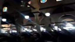هتافات المشيعين في الجامع الازهر بعد الصلاة عل الشيخ عماد عفت