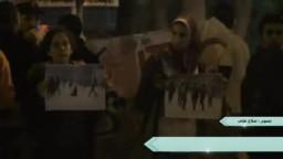 :وقفة إحتجاجية  بالاسكندرية تضامناً مع مصابي أحداث مجلس الوزراء