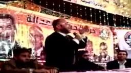 كلمة علم الدين السخاوي مرشح االحرية والعدالة في مؤتمر قرية الفرستق