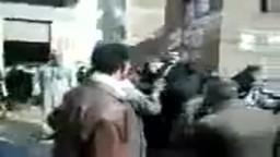 الاعتداء على مراسل صفحة حزب الحرية والعدالة من الكتلة