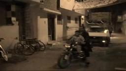 مسيرة سيارات ودراجات نارية بقرية شرنقاش بالدقهلية