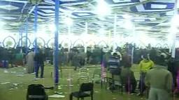 لحظة اعلان نتيجة الفرز بفوز المهندس محمود عامر مرشح حزب الحرية والعدالة بالدائرة الخامسة بالجيزة - 2011
