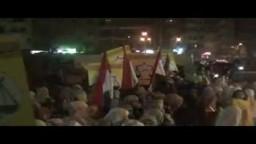 مسيرة الإخوان بالمنصورة لتأييد حزب الحرية والعدالة