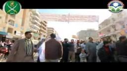 مسيرة حاشدة بمطروح 30 ديسمبر 2011 فى شوارع مطروح للحرية و العدالة