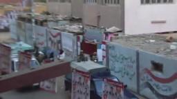 المنيا-- الجيش يبدأ تأمين العمليه الانتخابية وسط اغانى وطنيه ورفع لأعلام مصر أمام اللجان