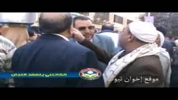 د. محمد سعد الكتاتنى ( أمين عام حزب الحرية والعدالة والمرشح على رأس قائمة الحزب بالمنيا ) يتفقد العملية الانتخابية