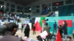 استقبال الشعب التونسي رئيس الوزراء الفلسطيني إسماعيل هنية