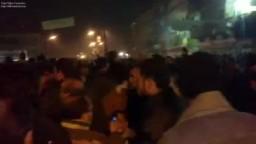 لحظة اعلان نتائج انتخابات الفردى مركز المحلة الكبرى واحتفالات الاخوان المسلمين