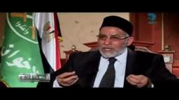 فضيلة المرشد مع وائل الابراشى فى برنامج الحقيقة 20-01-2012 ج2