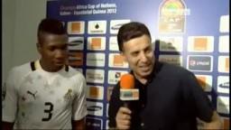 مونتاري لاعب غانا يؤيد الاخوان المسلمون