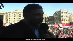 حصرياً .. لقاء مع د/ أسامة ياسين القيادى بالحرية والعدالة فى جمعة 27 يناير بميدان التحرير