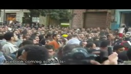شباب الإخوان يواجهون الإساءات بالصبر أمام البرلمان