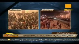 لحظة وصول قطار المصابين القادم من بورسعيد لمحطة مصر