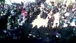 سوريا- مظاهرات الأحرار  في جمعة عذرا حمأة سامحينا 3/ 2/ 2012