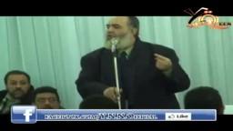 حازم ابو اسماعيل في عزاء شهيد مذبحة بورسعيد
