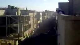 شام حمص تدمر-- منظهر مهيب في تشييع الشهداء
