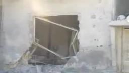 سوريا- بابا عمرو آثار الدمار الذي خلفه القصف 6 2 2012