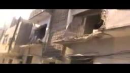 سوريا تستغيث | شوارع باباعمرو من أثَرِ القصف المتواصل عليها