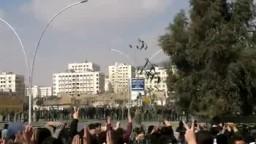 سوريا- (هـــــــام ) كتائب الاسد في تشييع شهداء كفرسوسة 27\2\2012
