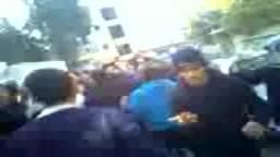 سوريا- دير الزور - اطلاق نار على المشيعين في جنازة أحد الشهداء وإصابة مشيع بالرأس 2/ 3/ 2012