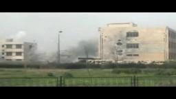 حمص كرم الزيتون قصف عنيف بالدبابات والصواريخ على المنازل من كتائب بشار 11 3 2012