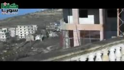 صقور الشام تدمر دبابة تي 72 في جبل الاربعين