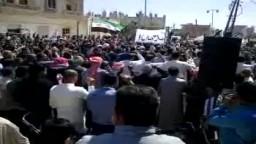 سوريا-- درعا ناحته-- انتفاضة الأحرار قادمون يا دمشق؛؛23 3 2012