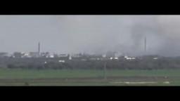 سوريا--  آثار القصف على المدينة يوم الجمعة 23 3 2012